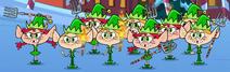Santa Claus' Elf Helpers