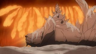 Elemento Fuego Jutsu de la Gran Llama