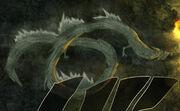 Kenshin utilizando al Dragón de Madera