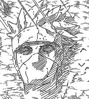 Rostro de piedra de Kakashi Hatake