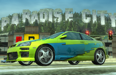 Burnout Paradise Best Car For Road Rules
