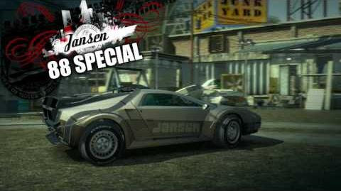 88 Special Trailer -Legendary Cars Burnout Paradise The Ultimate Box