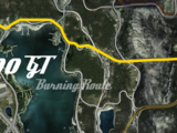 500 GT Burning Route