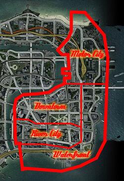 Downtown Paradise Regions