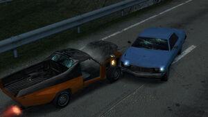 Paradise-Traffic Wreck