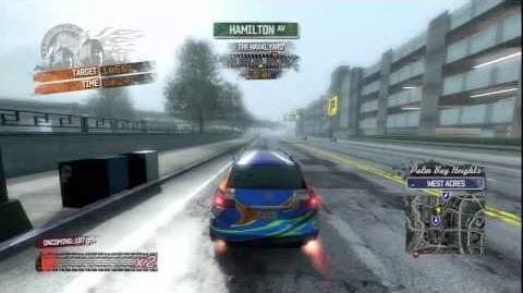 Burnout Paradise - Pioneer Burning Route