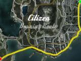 Citizen Burning Route