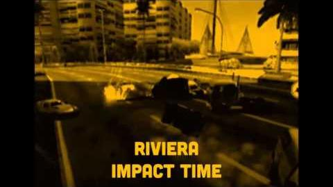Riviera, crash 1 (Impact time) - Burnout 3- takedown