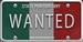 Bootlegger License Plate
