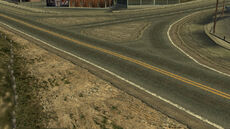 Crash zone 15 - Ballistic Beach - intersection