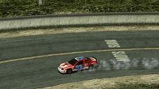 B2 Oval Racer oncoming drift