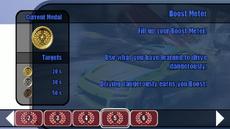 Offensive Driving 101 lesson 05 - Boost Meter - B2 menu