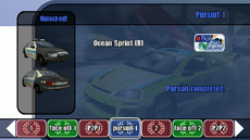 Championship stage 04 - Pursuit 1 - B2 menu