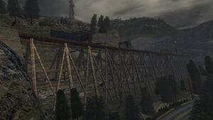 Derelict Railroad Bridge