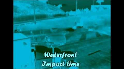 Waterfront, crash 1 (Impact time) - Burnout 3- takedown
