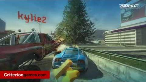 - World Premiere - Burnout Paradise Cops and Robbers Gameplay - CRASH TV 31