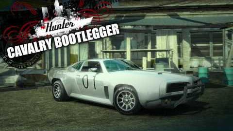 Cavalry Bootlegger - Legendary Cars Burnout Paradise The Ultimate Box Trailer