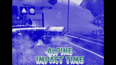 Alpine, crash 1 (Impact time) - Burnout 3- takedown