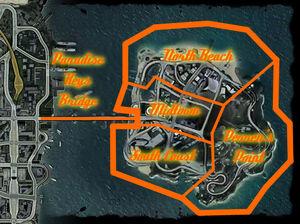 Big Surf Island Regions