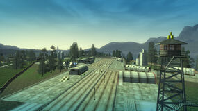 Airfield overlook south