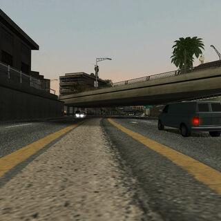This segment features the 88 Interchange overpasses.