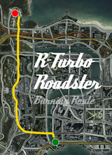 R-Turbo Roadster Burning Route