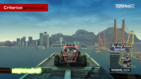 Burnout Paradise - Big Surf Island Tour Part 1 - CRASH TV 33 - Brand New Footage