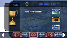 Custom Series Championship stage 03 - Split Second Grand Prix - B2 menu