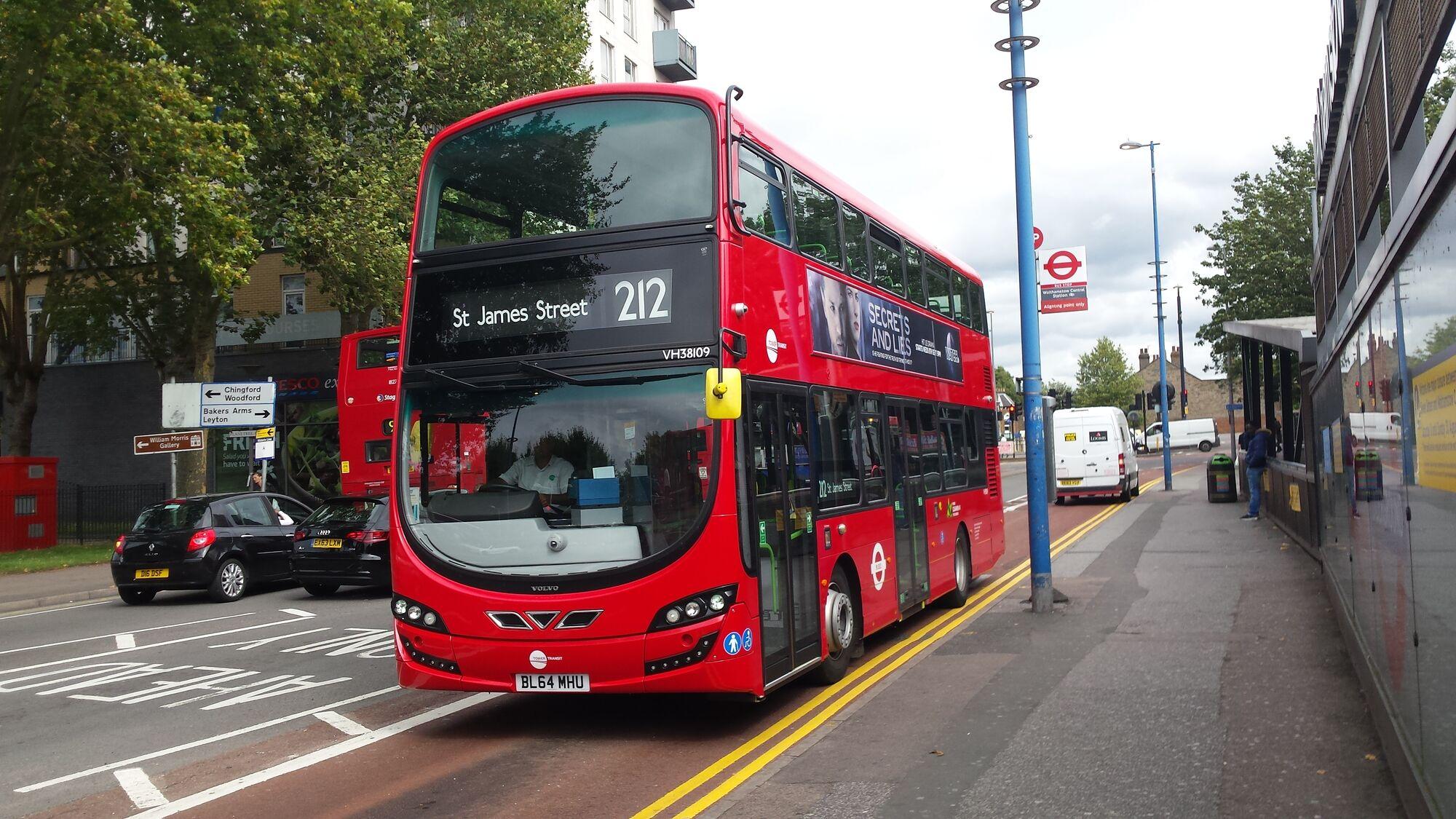 Tower Transit Fleet List Bus Routes In London Wiki