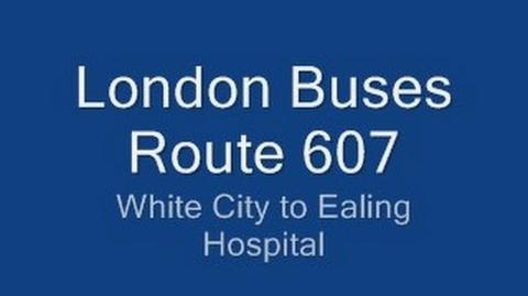 London Buses route 607 | Bus Routes in London Wiki | FANDOM