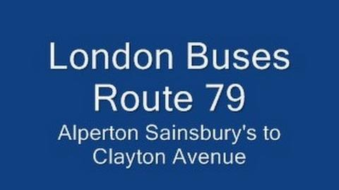 London Buses Route 79