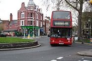 220px-London Bus route 185 Plaxton President at Goose Green