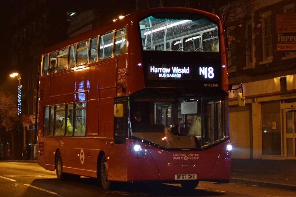London Buses Route N18 Bus Routes In London Wiki