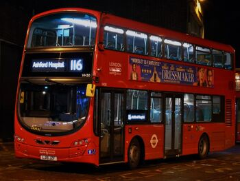 London Buses Route 116 | Bus Routes in London Wiki | FANDOM
