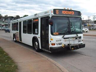 MTA Maryland 2002 Neoplan AN-440LF 0208