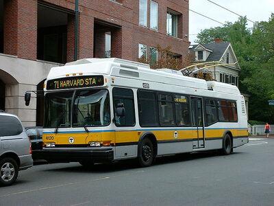 MBTA Trolleybus (BW)