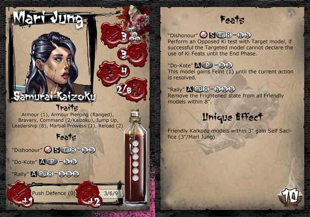 Mari jung profilecard