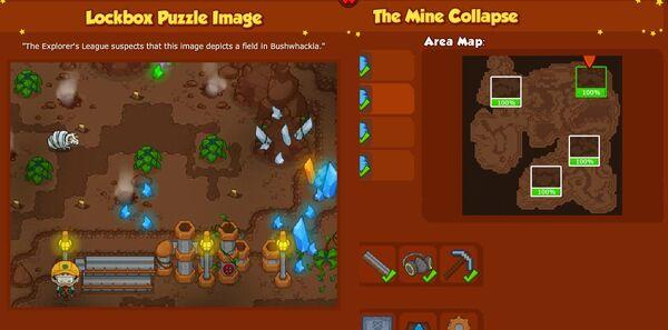 BW2 Explorers league Puzzle The Mine Collapse