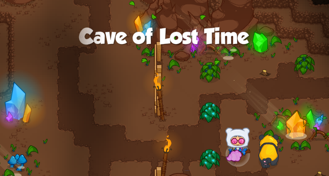 Cave of Lost Time Banner