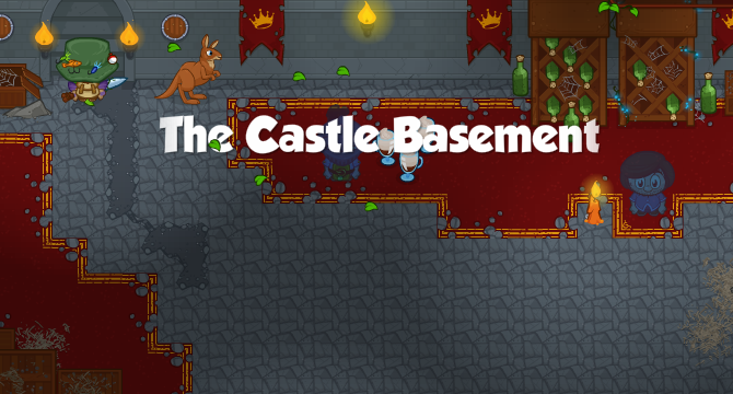 The Castle Basement Banner