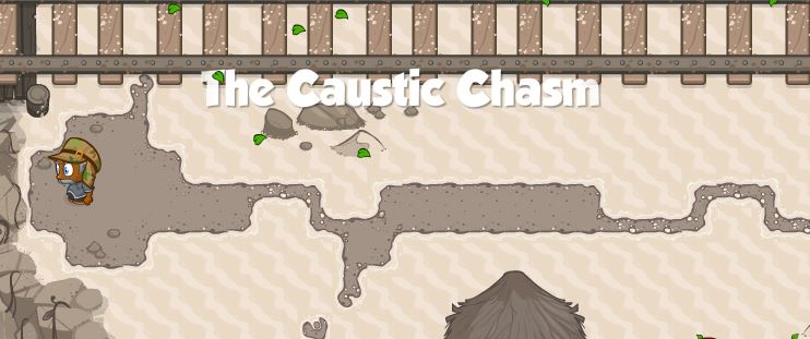 The Caustic Chasm
