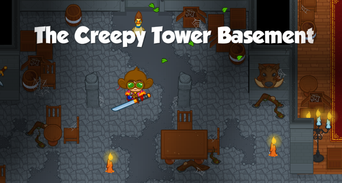 The Creepy Tower Basement Banner