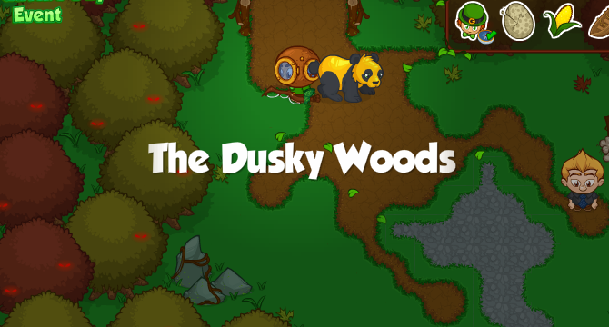 The Dusky Woods