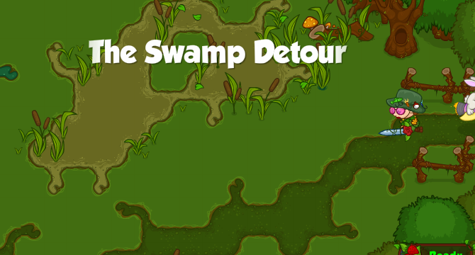 The Swamp Detour Banner