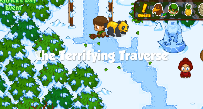 The Terrifying Traverse