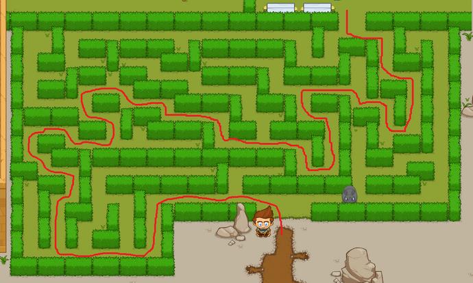 Olympus Maze Solution