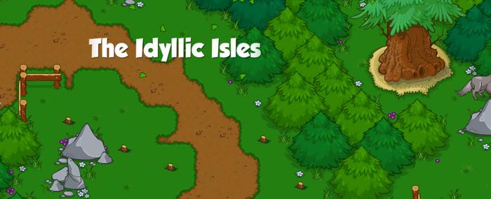 The Idyllic Isles Banner