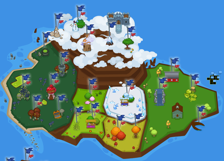 Island six banner