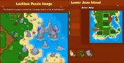 BW2 Explorers league Puzzle Lower Juau Island