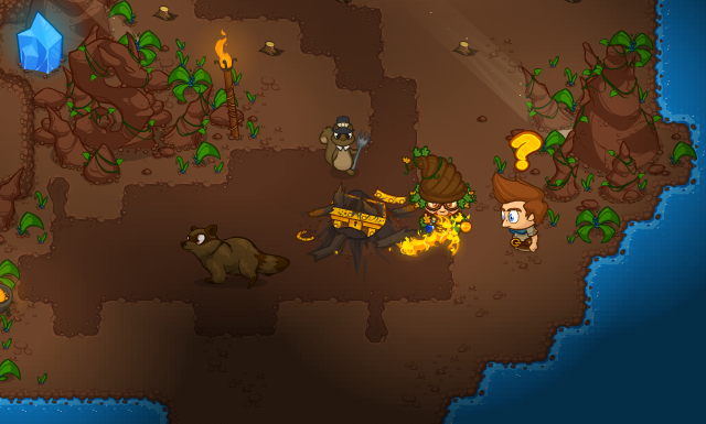 Nate's Cave Adventure Banner